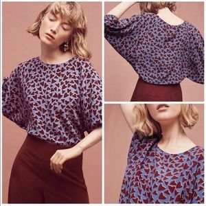 Maeve hearts blouse Perfect for year round wear.